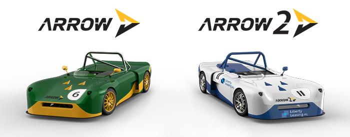 Arrow Racing Car